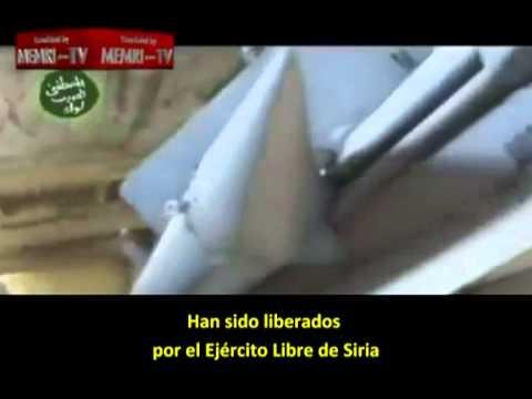 Misiles incautados por rebeldes sirios