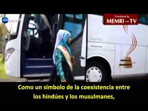 """Miss Mundo Musulmana: """"Pido a Allah que libere Palestina"""""""