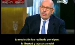 Mohamed El Baradei contra Morsi y los negacionistas del Holocausto