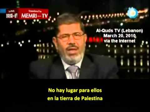 """Morsi: """"Sionistas, descendientes de monos y cerdos"""""""