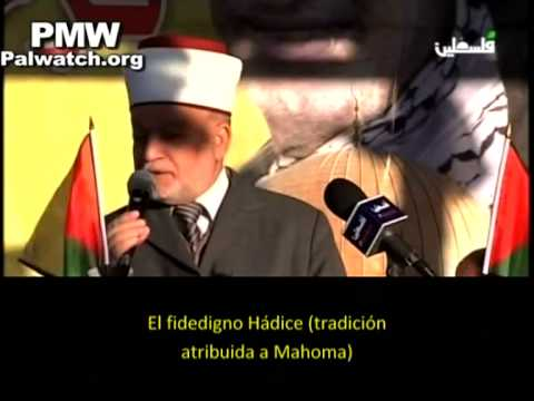 """Mufti palestino: """"Nuestro destino es matar judíos"""""""