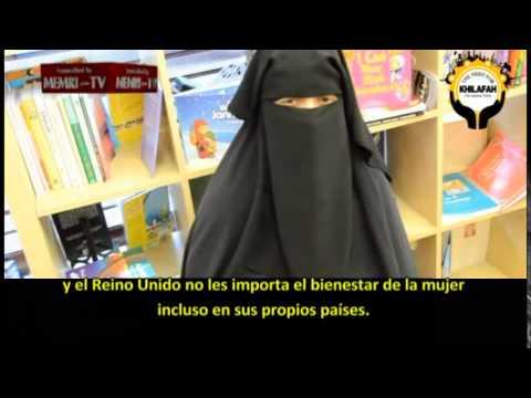 """Mujeres islamistas de GB: La conversión al Islam de las níñas nigerianas """"es bueno para ellas"""""""