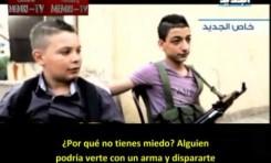 Niños soldados en Libia (TV Líbano)