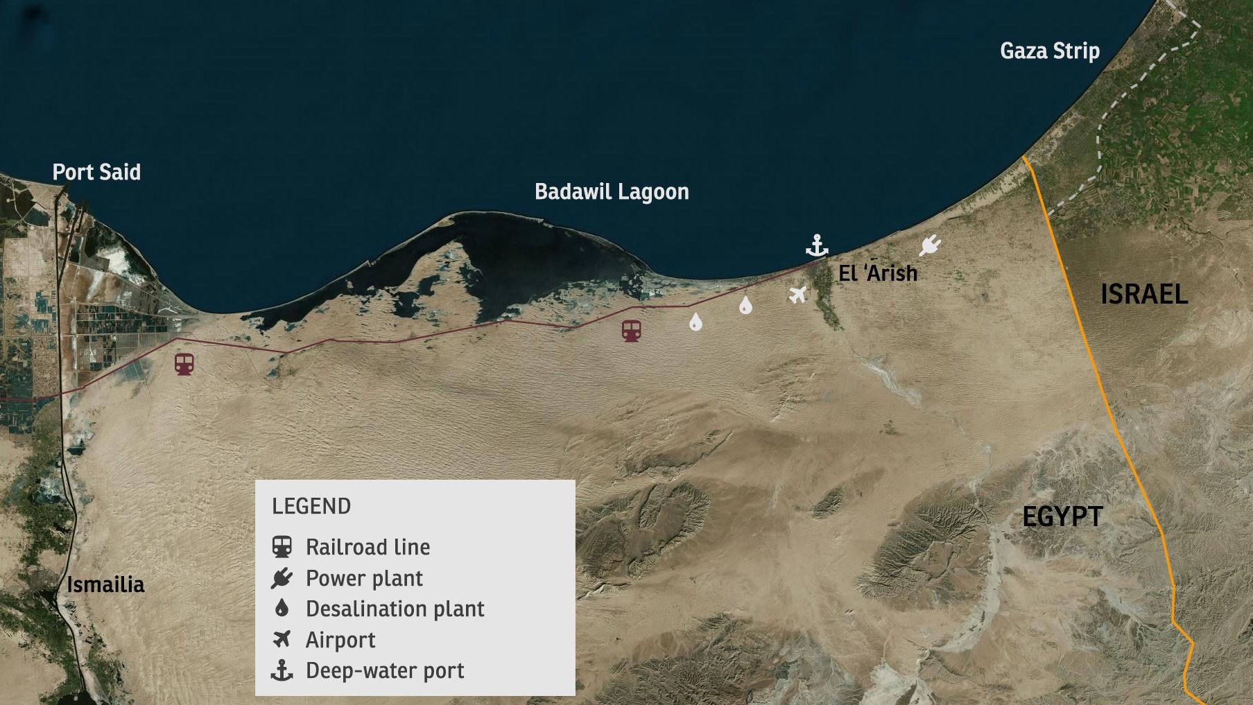 Desarrollando el norte del Sinaí – Un nuevo paradigma diplomático – Por Brigadier General (Retirado) Dr. Shimon Shapira y Shlomi Fogel (Instituto de Asuntos Contemporáneos)