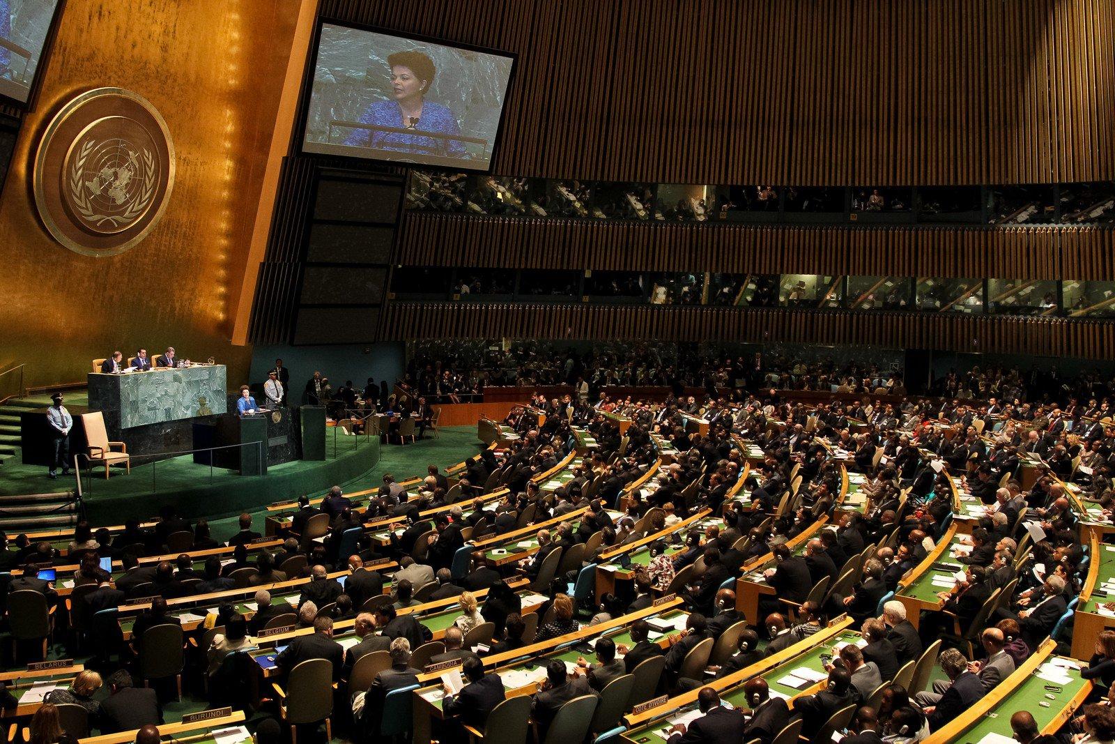 Naciones Unidas un burdel de lujo – Por Bryan Acuña