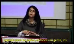 Palestina: El testimonio de una valiente mujer amenazada de muerte