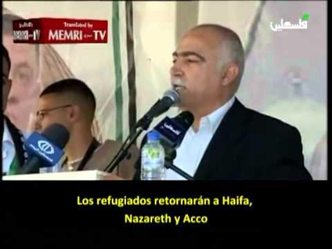 """Palestinos: """"Regresaremos a Haifa, Nazareth y Acco (Israel)"""""""