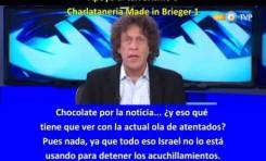 Pedrito Brieger (Argentina): 2 Apoyos al terrorismo y 5 tonterías en un minuto y medio