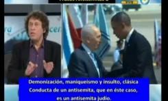 Pedro Brieger (Argentina) 4 mentiras y 3 frases antisemitas en 3 minutos