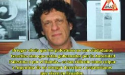 """Pedro Brieger (Argentina) """"Israel es un estado Apartheid"""""""