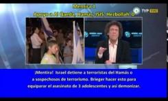 Pedro Briger (Argentina) 12 mentiras y 2 apoyos al terrorismo en 200 segundos