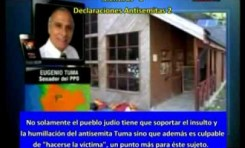 Senador Tuma (Chile) 3 mentiras y 3 declaraciones antisemitas en 45 segundos