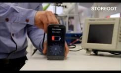 Storedot - Una Start-up Israeli te carga el celular en menos de un minuto