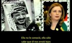 Suha Arafat reconoce que Yasser Arafat inició adrede la Intifada