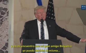 El más importante discurso de amor y apoyo a Israel enunciado por un Presidente de Estados Unidos