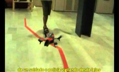 Un helicóptero no tripulado... que se maneja solo