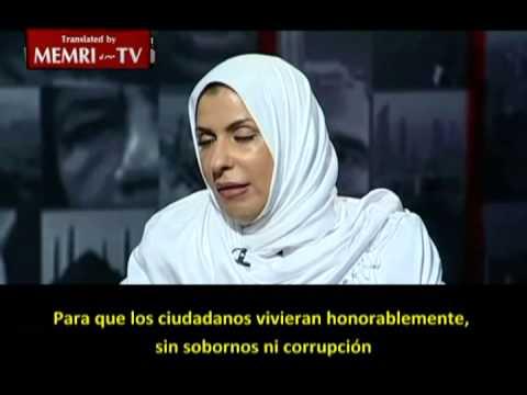 Valiente mujer saudita