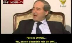 """Vice ministro sirio: """"Assad seria reelegido en Siria"""""""
