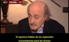 Walid Jumblatt (Druso libanés) apoya a la oposición Siria