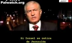 """""""Yo no puedo decir que el principal objetivo es hacer desaparecer a Israel"""""""